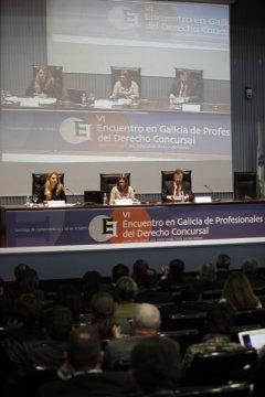 Novidades sobre comunicación, recoñecemento e clasificación de créditos  - VI Encontro en Galicia de profesionais do Dereito concursal